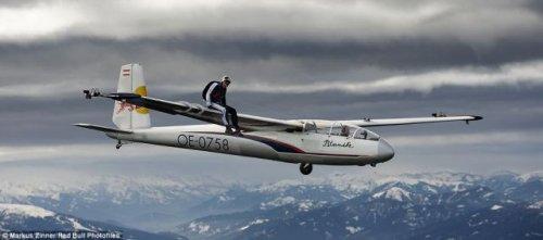 Трюки на высоте 2100 метров