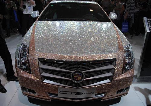 Cadillac CTS Coupe в кристаллах Сваровски