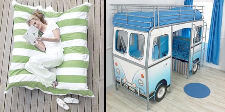 Подборка прикольных и необычных кроватей
