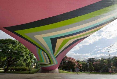 Крупномасштабный стрит-арт