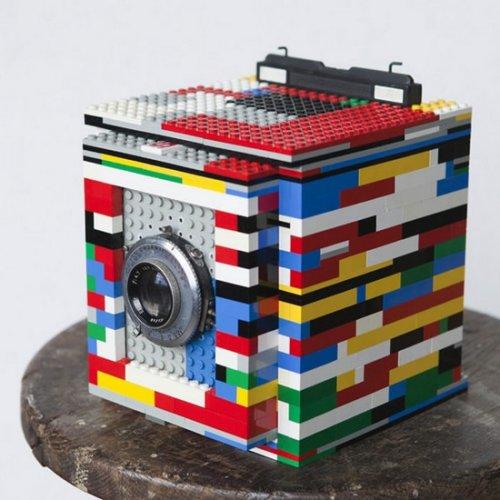 Фотокамера из LEGO