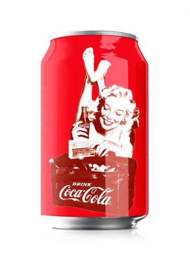 Юбилейное оформление Coca-Cola