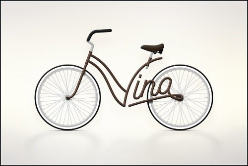 Именной велосипед