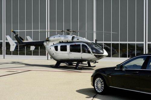 Вертолет от Mercedes-Benz и Eurocopter