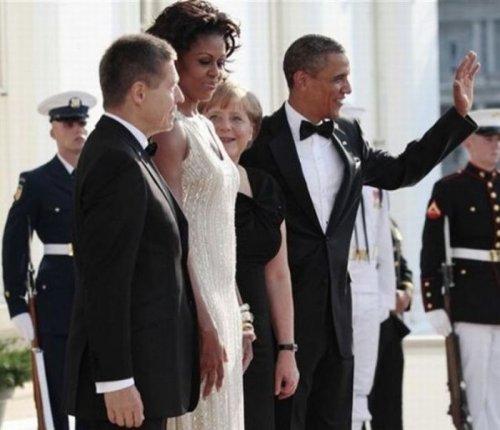Ангеле Меркель очень понравилась Мишель Обама