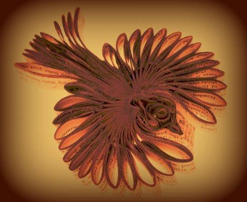 Бумажные цветы и птицы от Bronia Sawyer