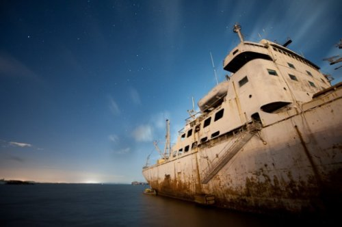 Внутри кораблей-призраков