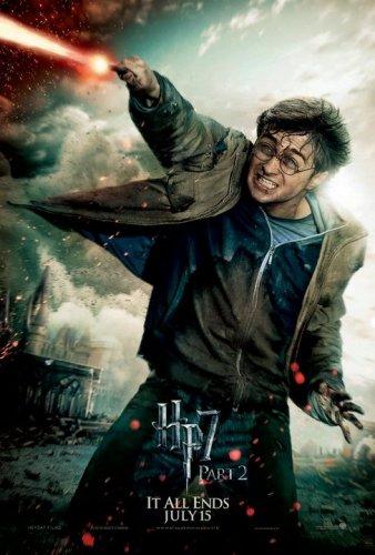 Постеры к кинопремьере Гарри Поттер и Дары смерти