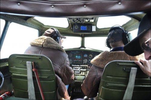Аварийная посадка B-17