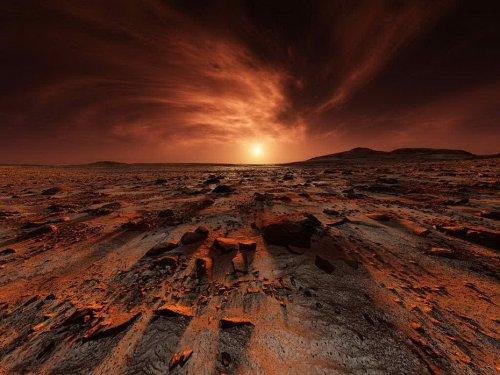 Пейзажи Марса