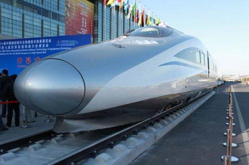 Современные железные дороги в Китае