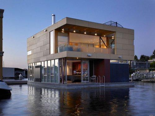 Дом на воде в Сиэттле