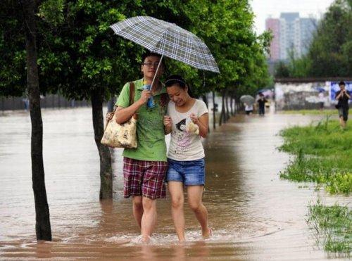Неудачная прогулка под дождем