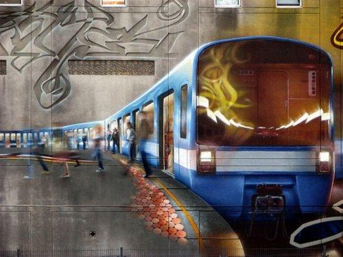 Красивые граффити