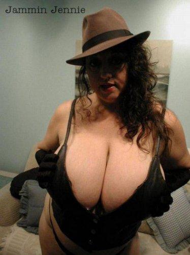 Огромные груди