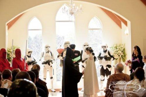 Свадьба в стиле STAR WARS