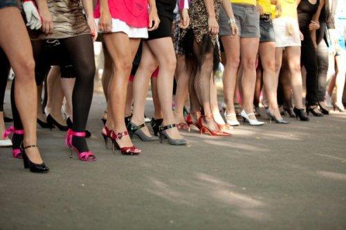 Забег на каблуках в Таллине