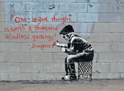 Граффити от Бэнкси