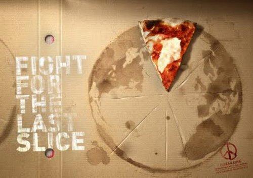 Креативная реклама пиццерий