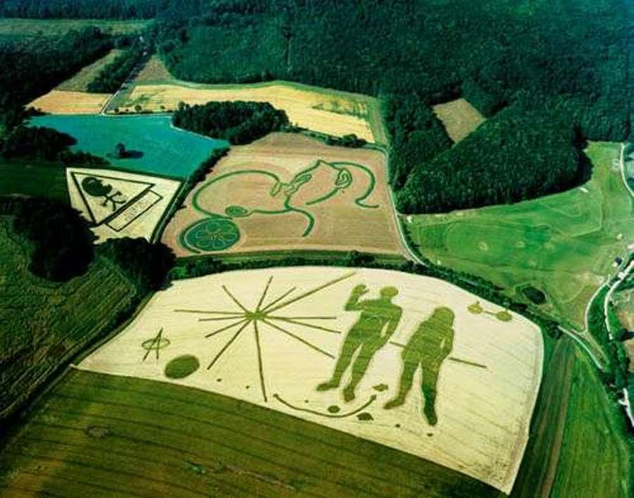 Если человек рисует на полях