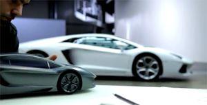 Создание Lamborghini Aventador