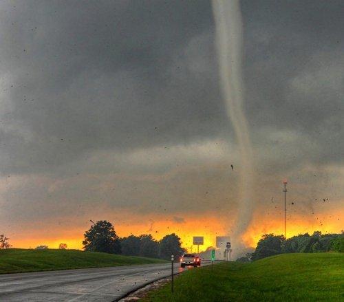 Захватывающие фотографии шторма