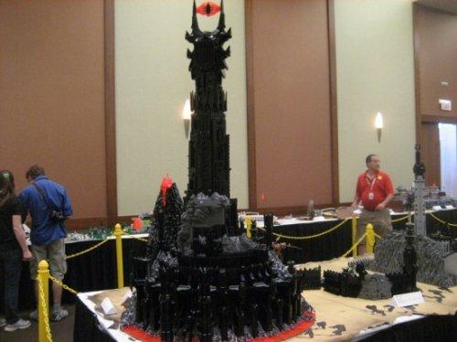 Средиземье из LEGO