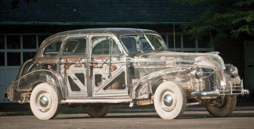 Прозрачный Pontiac