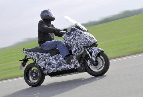Mottorad E-Scooter - ����� ������ ������� �� BMW