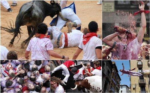 Фестиваль езды на быках