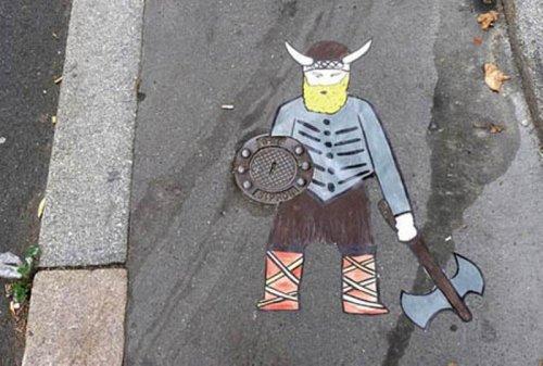 Креативное уличное искусство