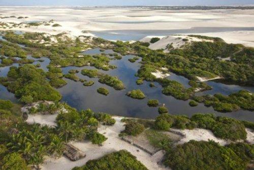 Песчаные дюны Бразилии