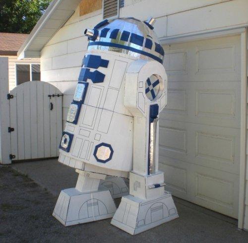 Картонная модель робота R2D2