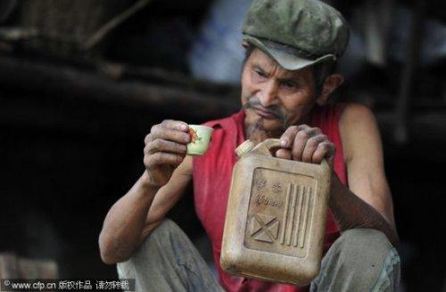 Китайское лечение бензином