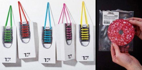 Креативные упаковки для привычных вещей