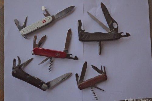 Изготовление швейцарских армейских ножей