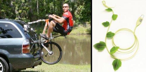 Странные аксессуары для велосипедов