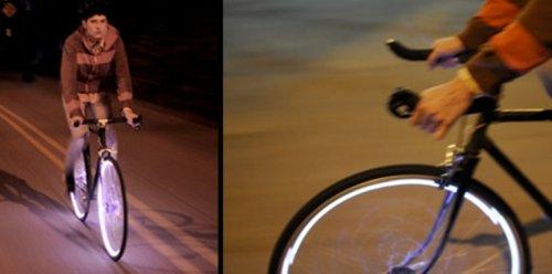 Светодиодная подсветка для велосипедов