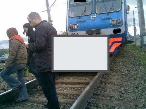 Как правильно обогнать поезд