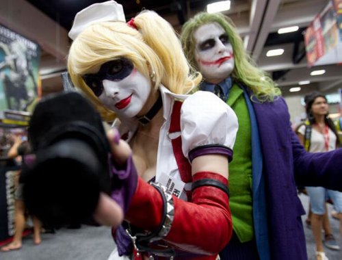 Ежегодный фестиваль Comic-Con 2011