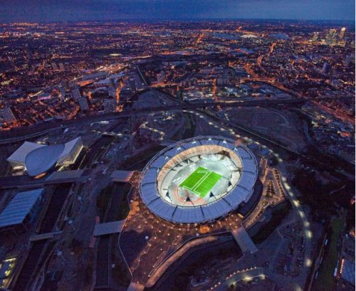 Лондонские олимпийские площадки 2012