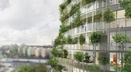 Зеленая башня во Франции