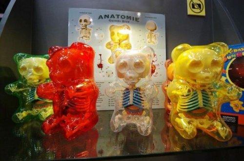 Анатомические игрушки Джейсона Фрини