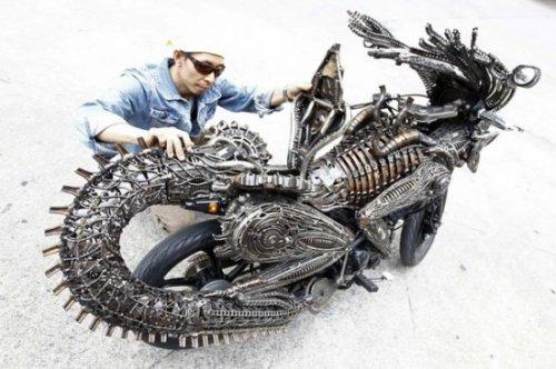 Мотоциклы из фильма ужасов