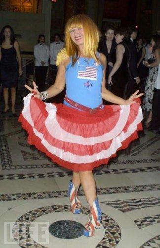 Использование американского флага