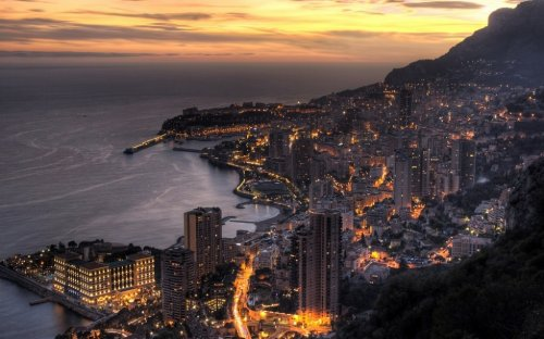 Панорамы княжества Монако