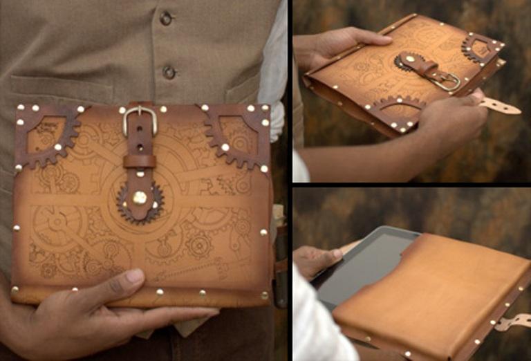 Обложка из кожи для планшета своими руками