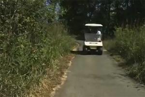 Фейлы на гольф-карах