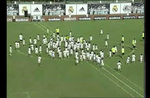 Real Madrid  против команды из 109 детей