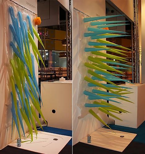 Креативные занавески для ванной комнаты